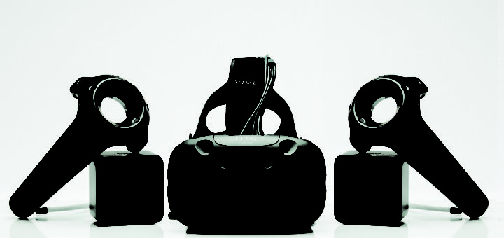 HTC Vive virtual reality gaming system
