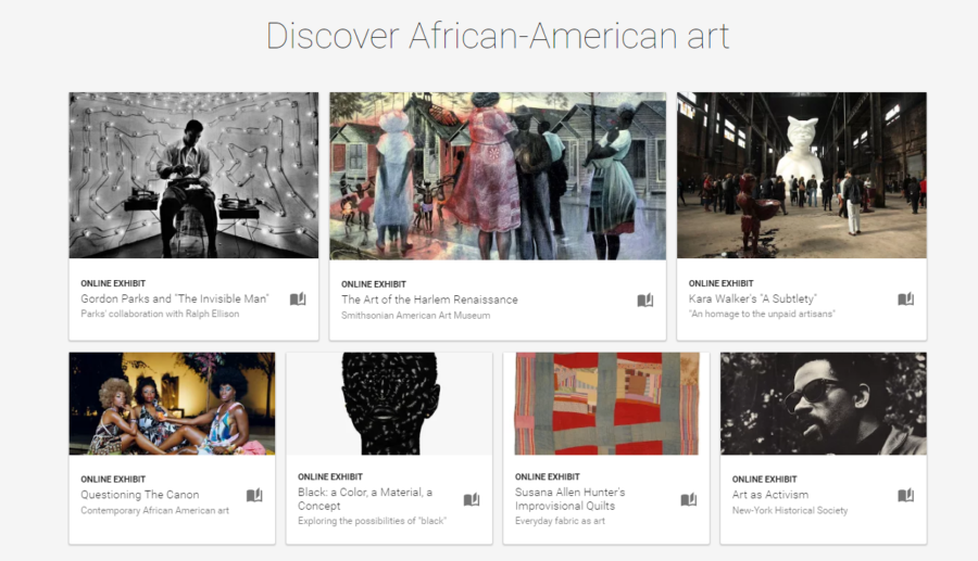 Google African American History Art
